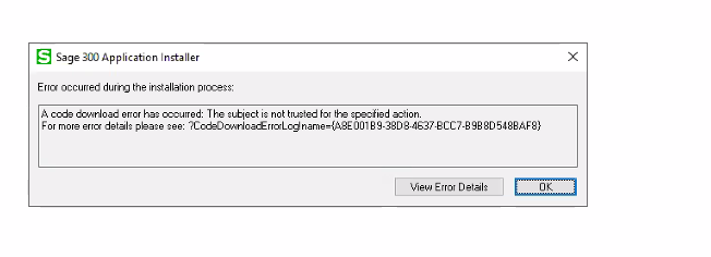 Error while activating modules